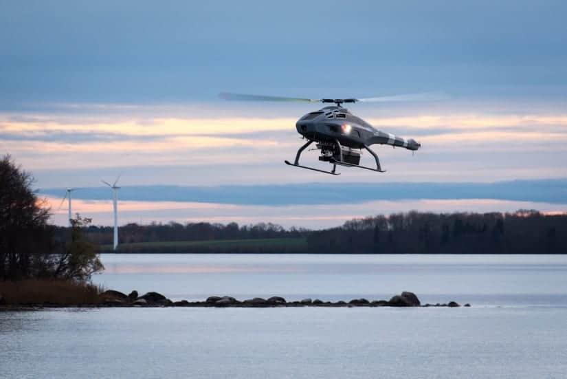 Skeldar V-200 UAV with Sensor