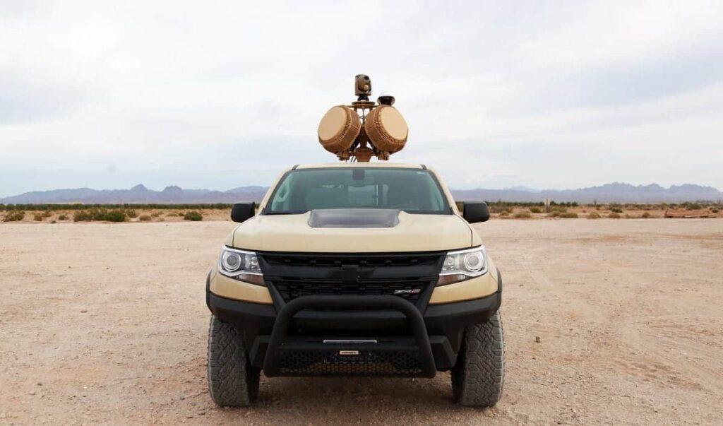AVT X-MADIS counter-UAS vehicle