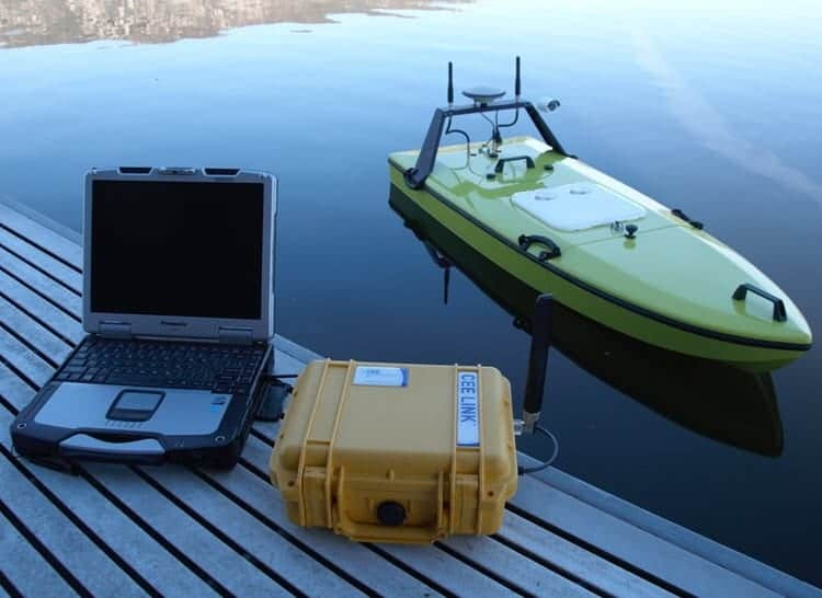 CEE-USV unmanned survey vessel
