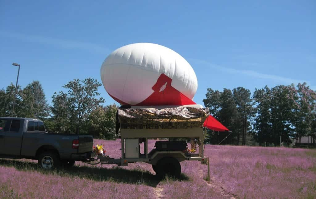 CUV Small Tactical Multi-Payload Aerostat System