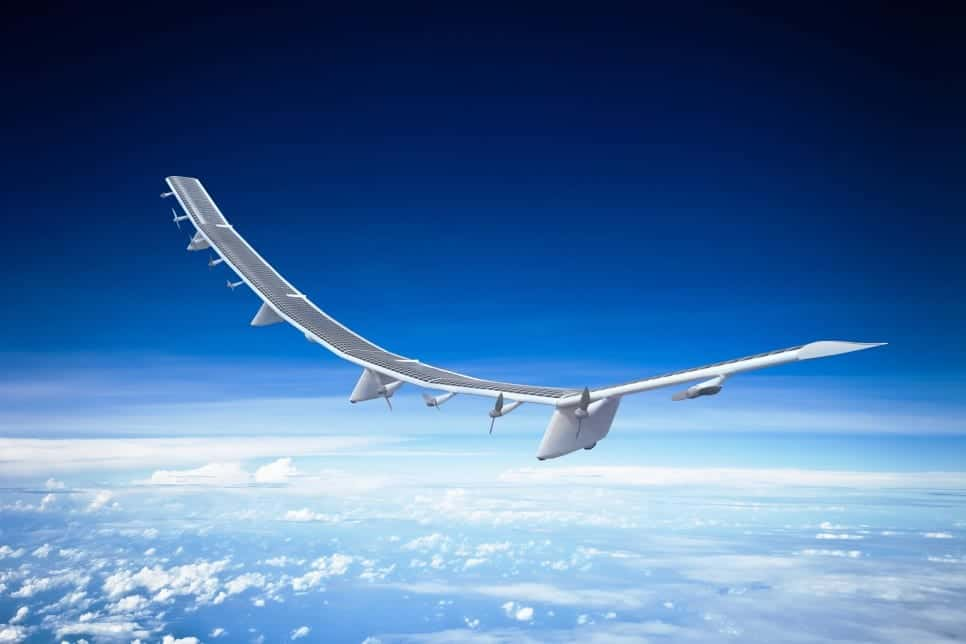 HAPSMobile HAWK30 stratospheric UAV