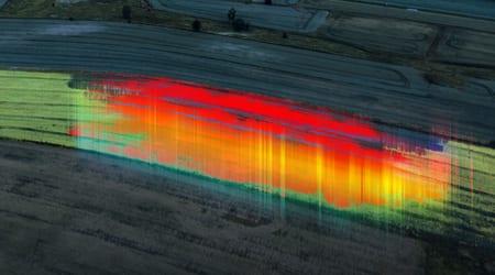 Agricultural Drone Multispectral Image (UMS Skeldar)