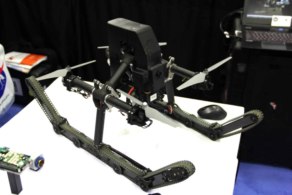 Robotic Research Pegasus UAV-UGV hybrid
