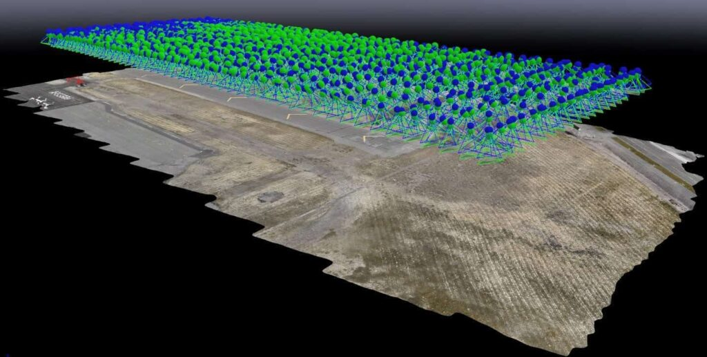 UAS photogrammetry for airport inspection