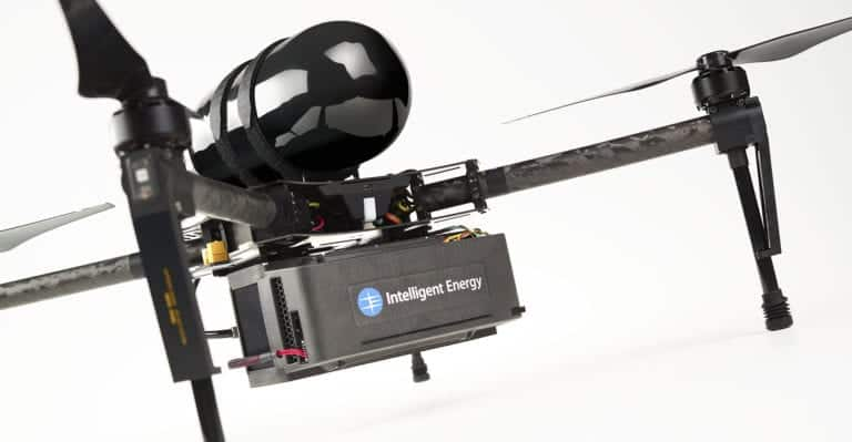 UAV Hydrogen Fuel Cell Module by Intelligent Energy