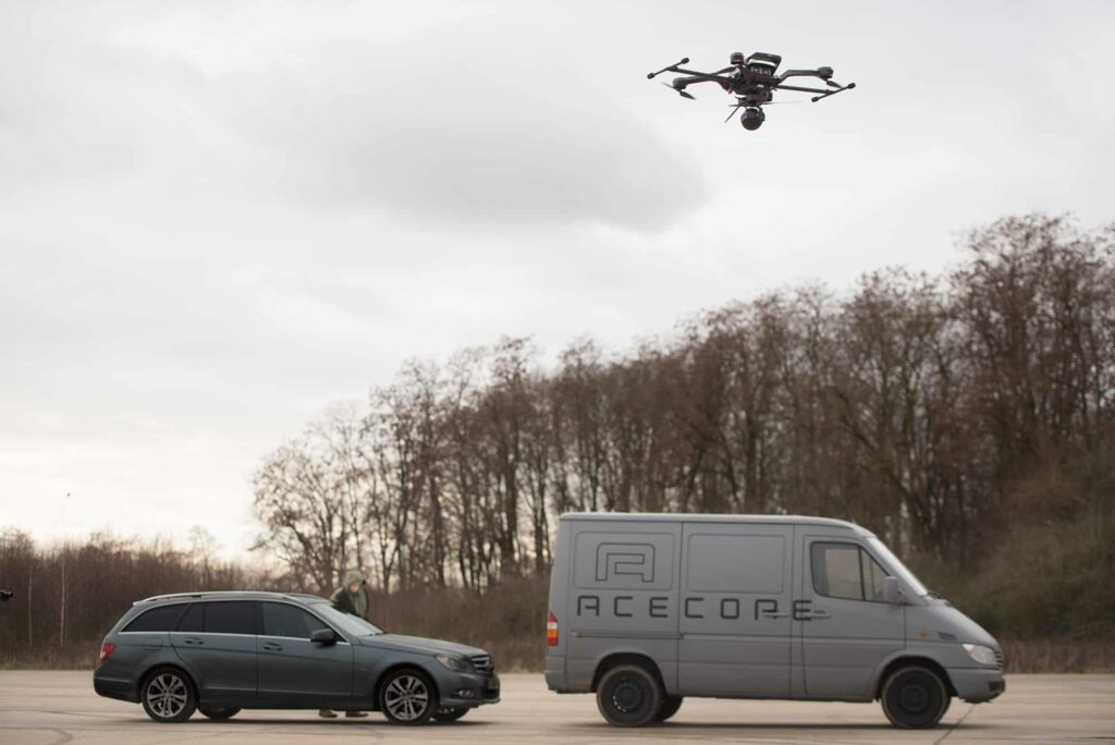 Acecore drone for industrial inspections
