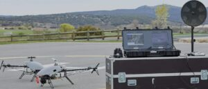 Alpha Drone UAS with GCS and external antenna