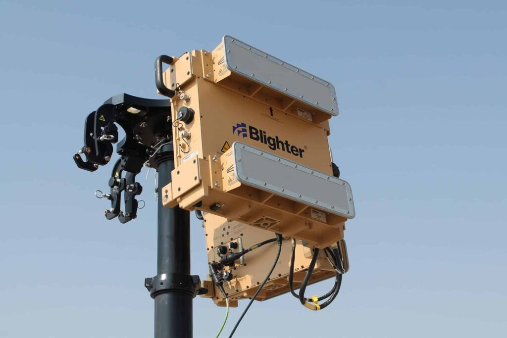 Blighter Surveillance Systems A400 series counter-drone radar