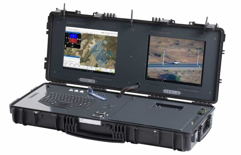 Ground Control Station (GCS) for drones, UGVs, USVs