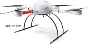 Microdrones md4-1000 used in pipeline inspection