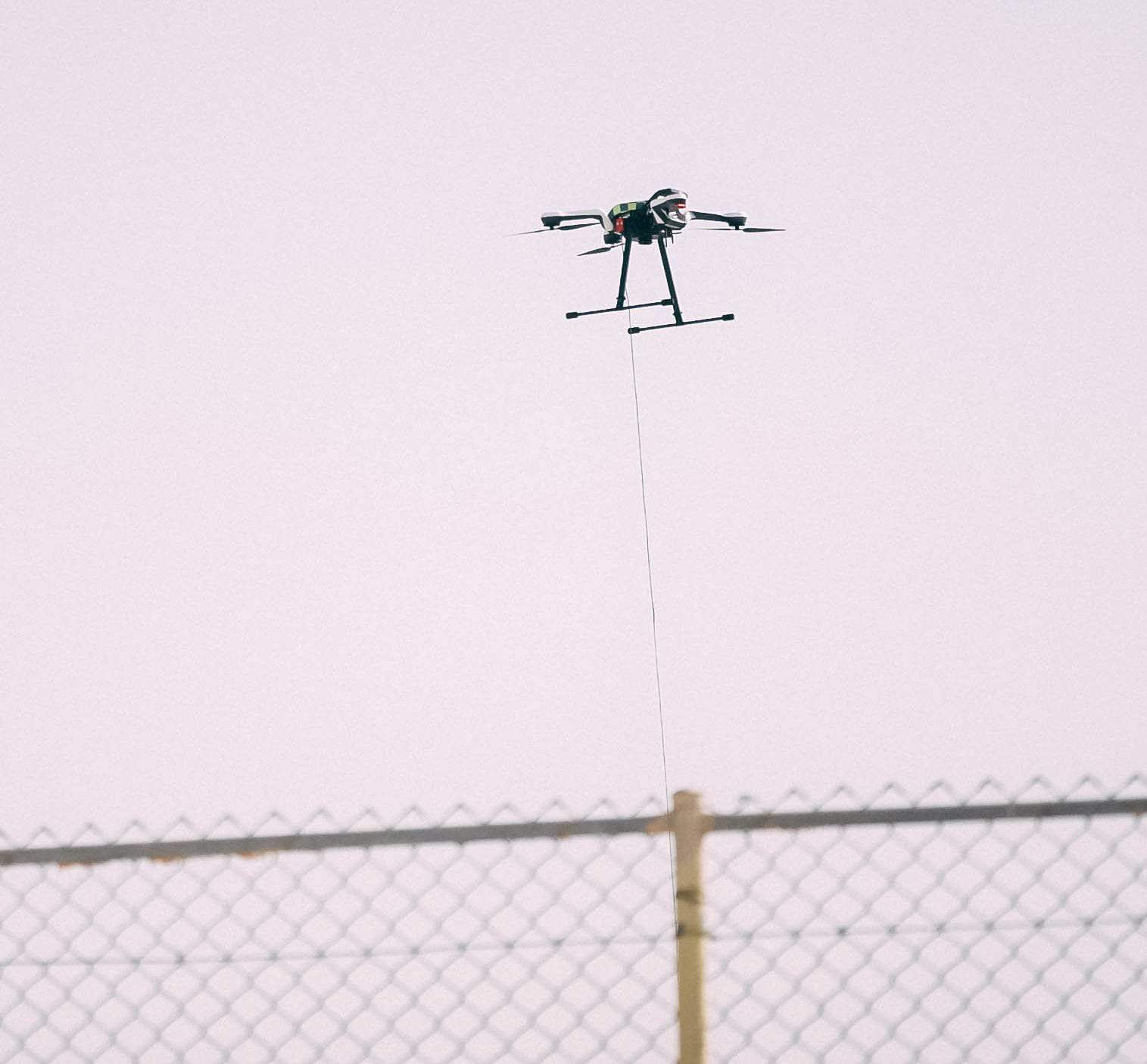 Persistent Drone Tether