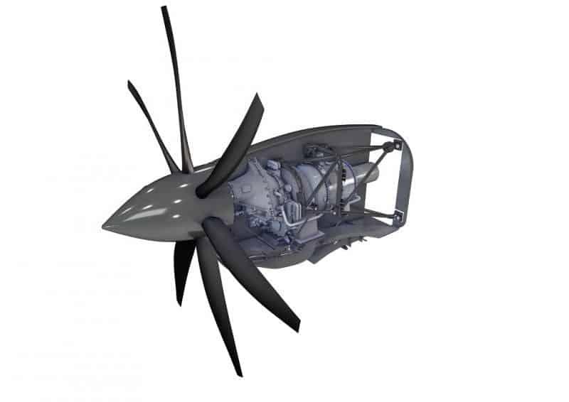 Safran turboprop UAV engine