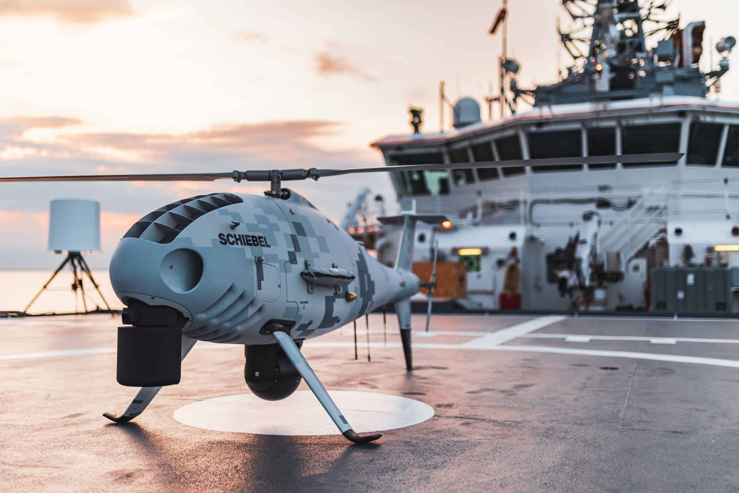 Schiebel CAMCOPTER S-100 completes sea trials