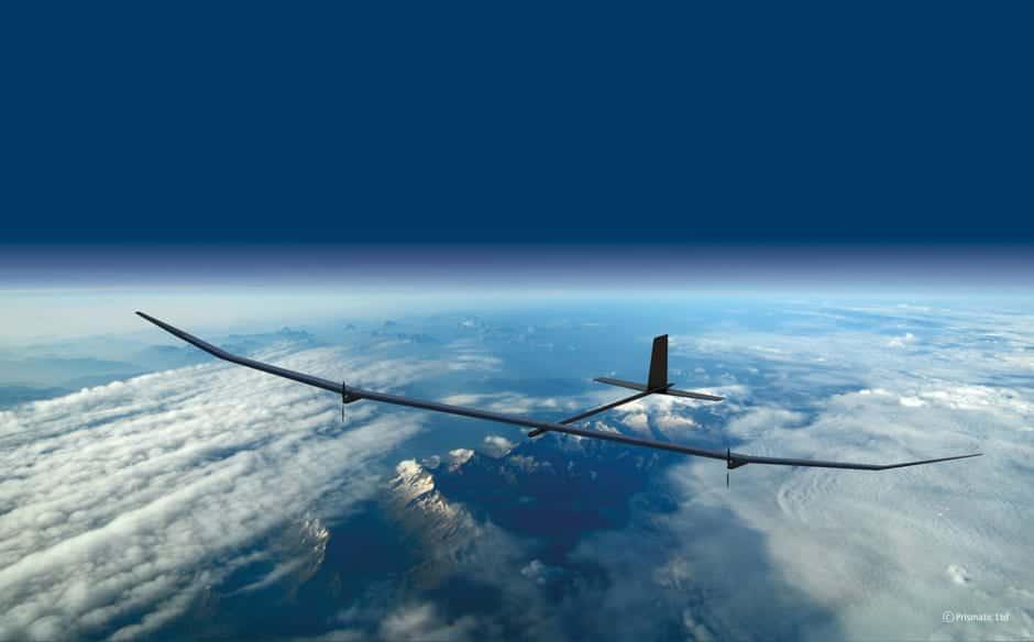 Solar powered HALE UAV
