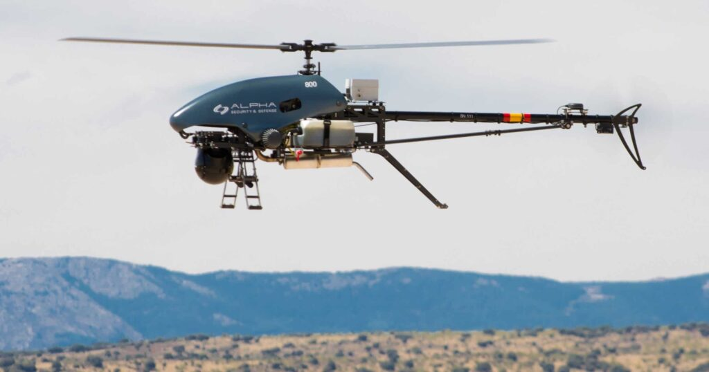 Tactical drone for military security & defense