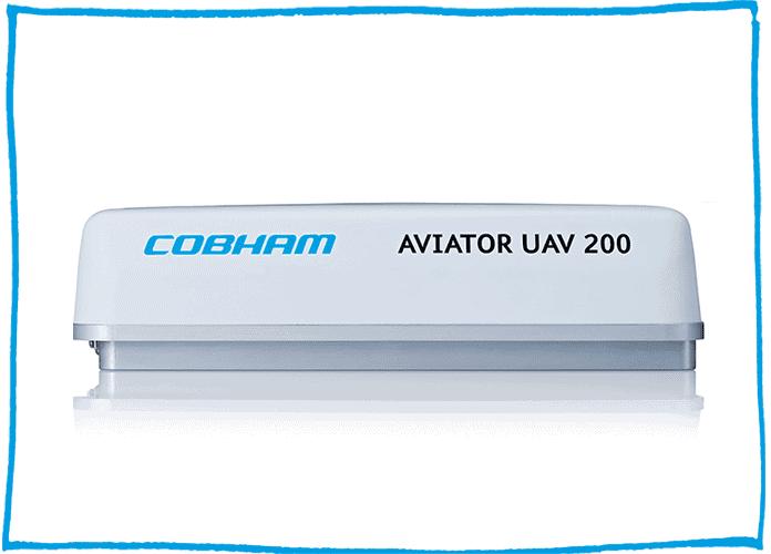 Aviator UAV 200 UAV SATCOM appliance product