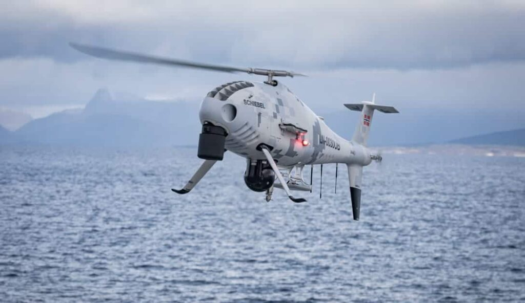 CAMCOPTER S-100 UAS in Norway