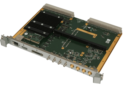 CHARM – 6U VME 6U VME video tracker board