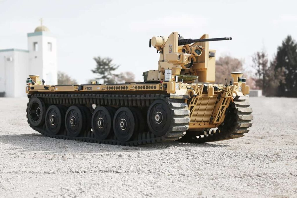 EMAV entrant for US Army Robotic Combat Vehicle program