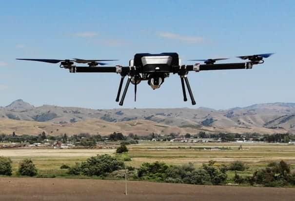 Gas electric endurance quadcopter drone