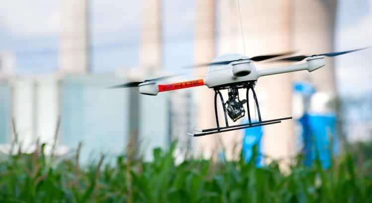 Microdrones UAV mapping system
