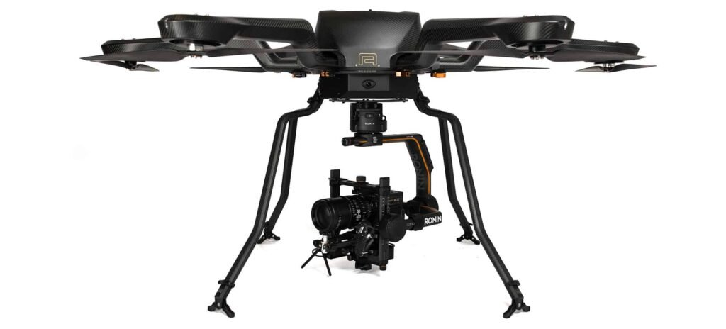Noa – heavy lift hexacopter drone