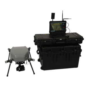 Octocopter Drone for Military and Defense applications