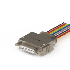 Omnetics Latching Micro D Connector
