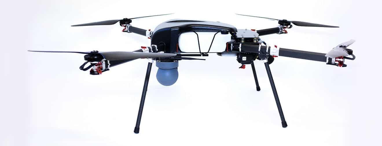 Perimeter 4 Quadcopter Hybrid Gas Electric Drone