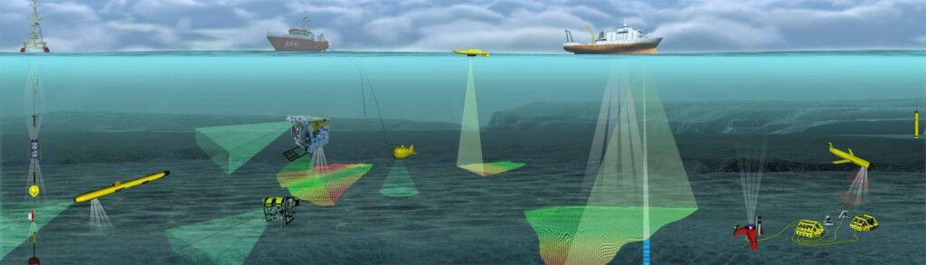 ROVs AUVs USVs for underwater oceanographic research