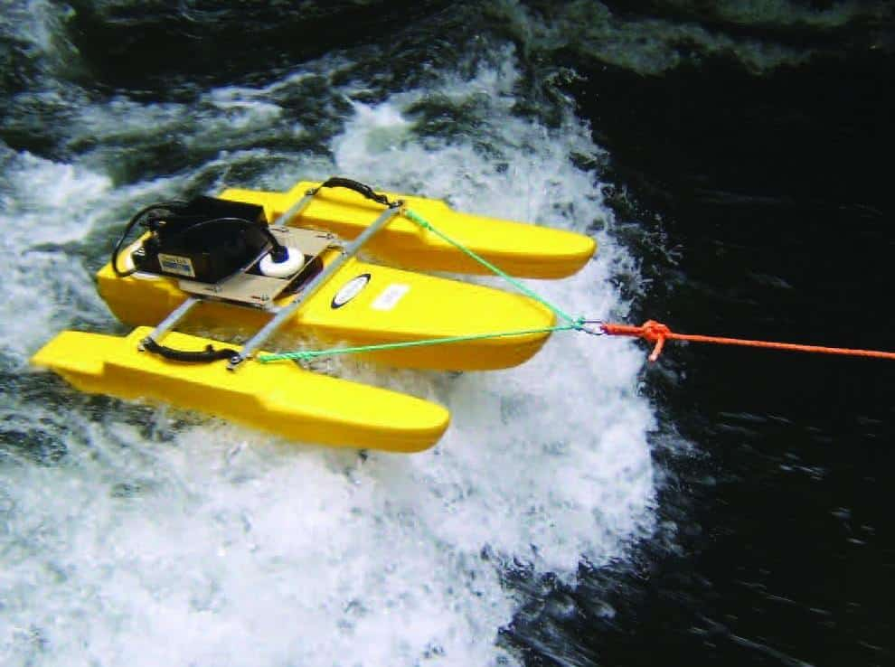 Riverboat ST Tethered Hydrologic Boats