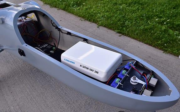 SATCOM for BVLOS UAV control example