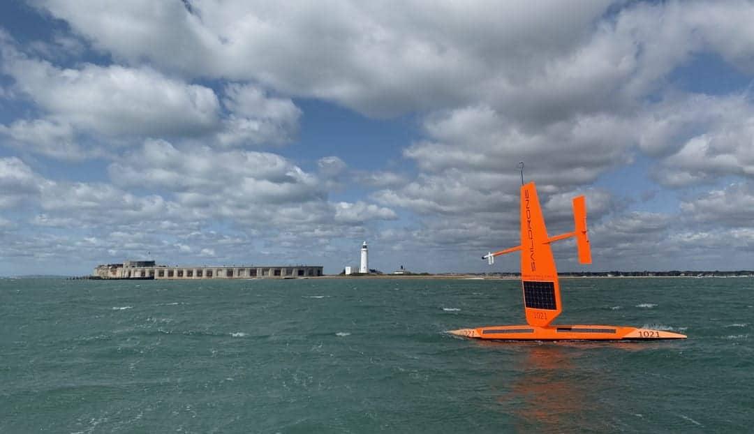 Saildrone USV making Atlantic crossing