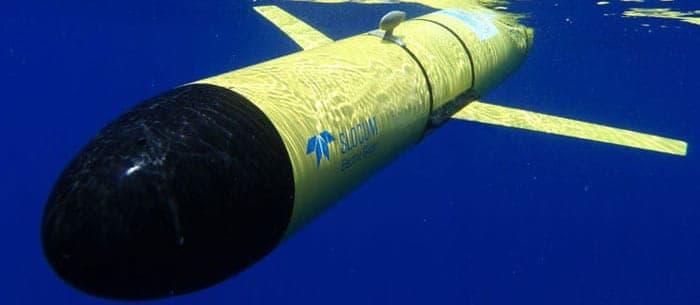 Slocum G3 Autonomous Underwater Glider water