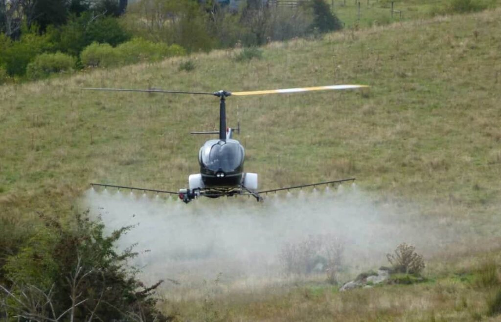 UAVOS unmanned helicopter for precision agriculture