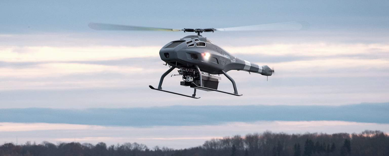 UMS-SKELDAR-V-200-Single-Rota-Drone
