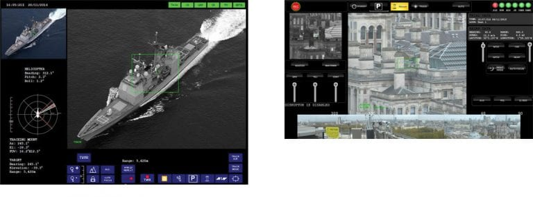 Video management and image processing software for EO systems