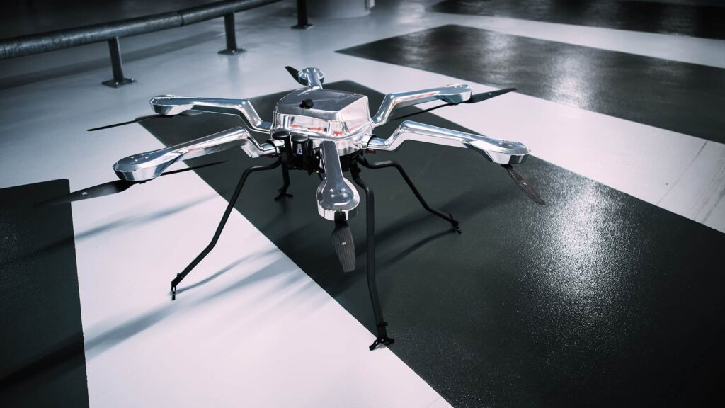 Weatherproof hexacopter drone