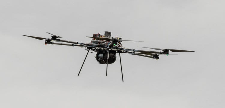 Drone hydrogen fuel cell