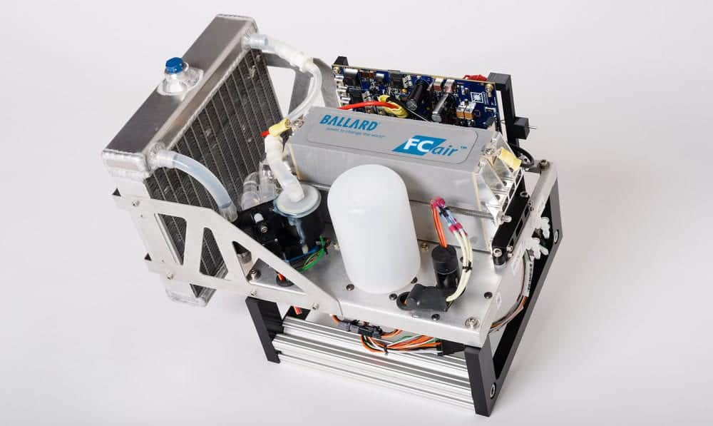Hydrogen fuel cell for drones and UAVs