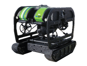 vLBC Hybrid ROV tracked crawler