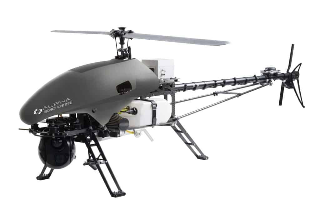 Alpha 800 tactical helicopter UAV