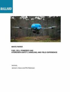 Ballard drone hydrogen safety whitepaper
