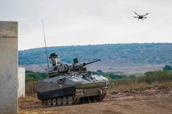 Elbit Systems vehicle-launched drone