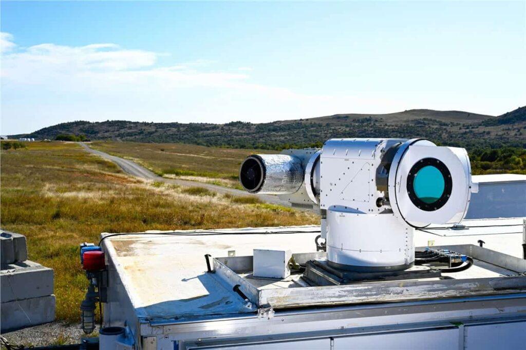 Lockheed Martin laser counter-drone system