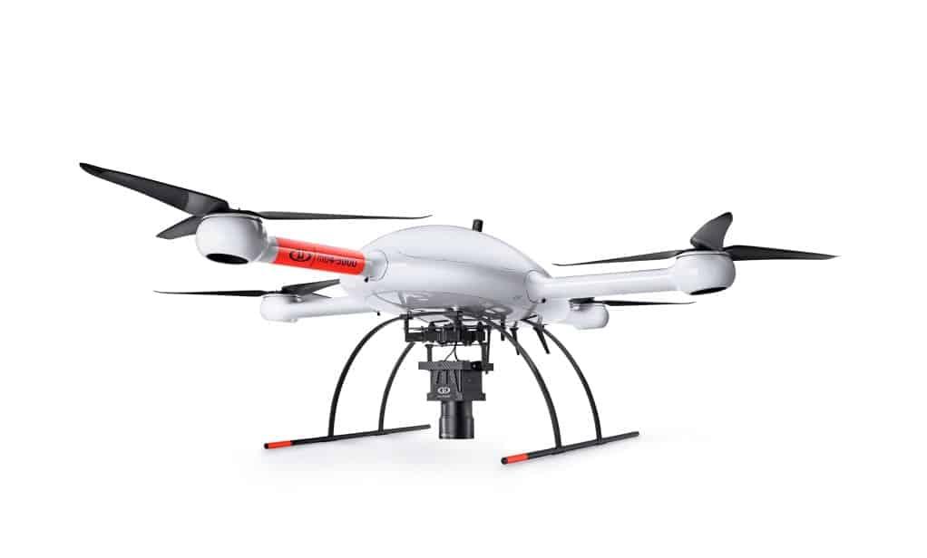 Microdrones mdMapper3000DuoG VHR drone platform