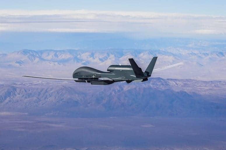 NATO Alliance Ground Surveillance UAS