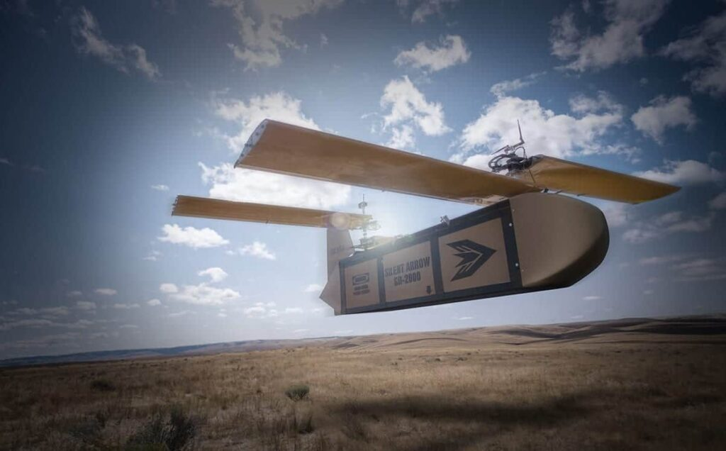 Silent Arrow cargo delivery drone