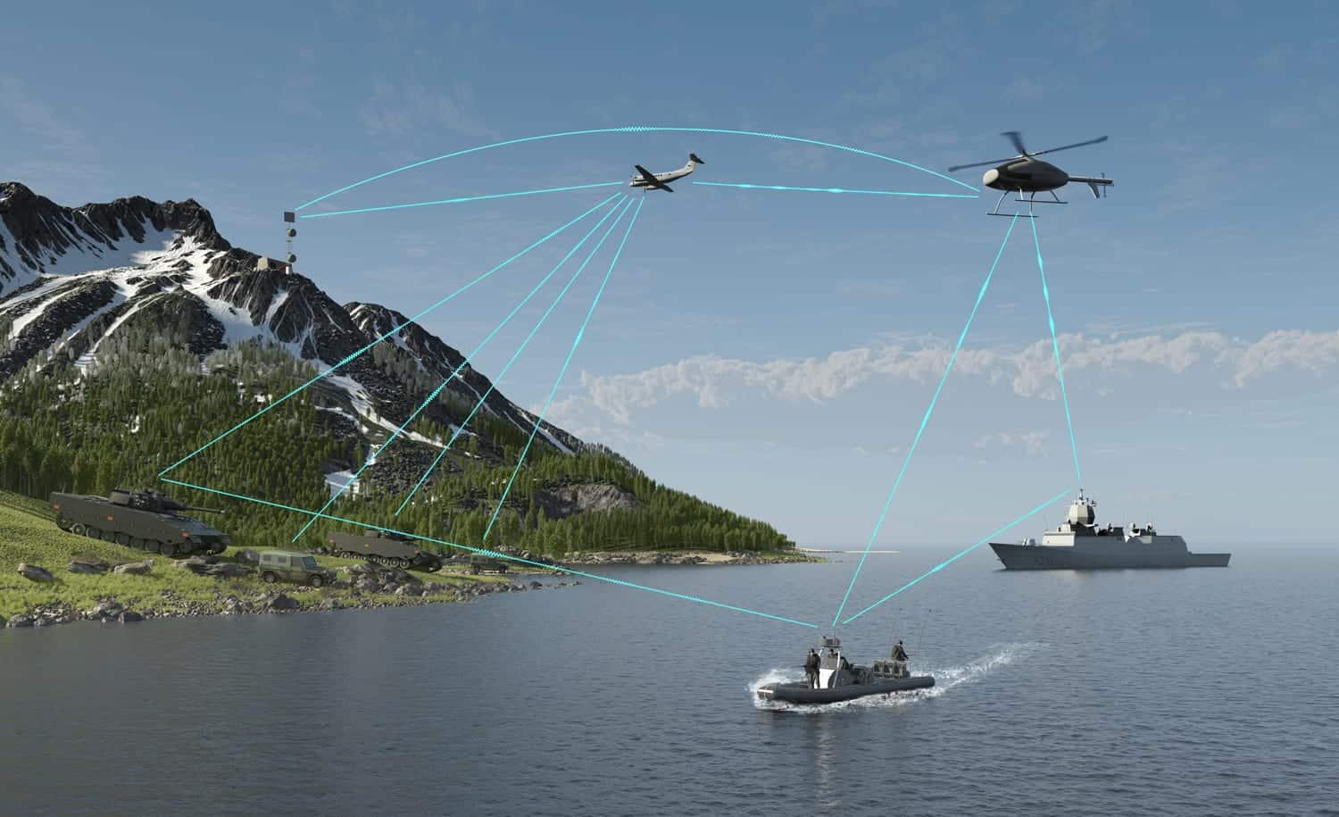 Wireless UAV Data Links & Radio Transceivers