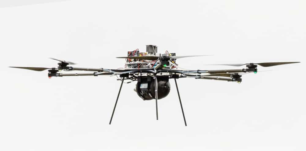 BFD Systems H26 hydrogen fuel cell drone